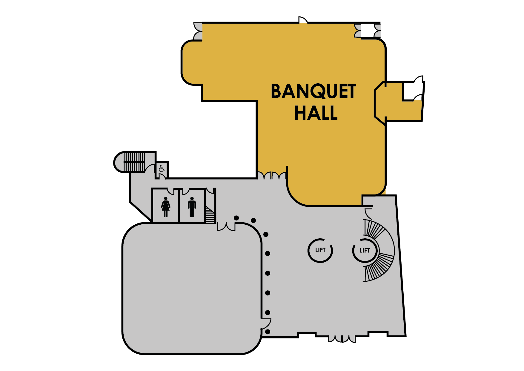 Banquet Hall map