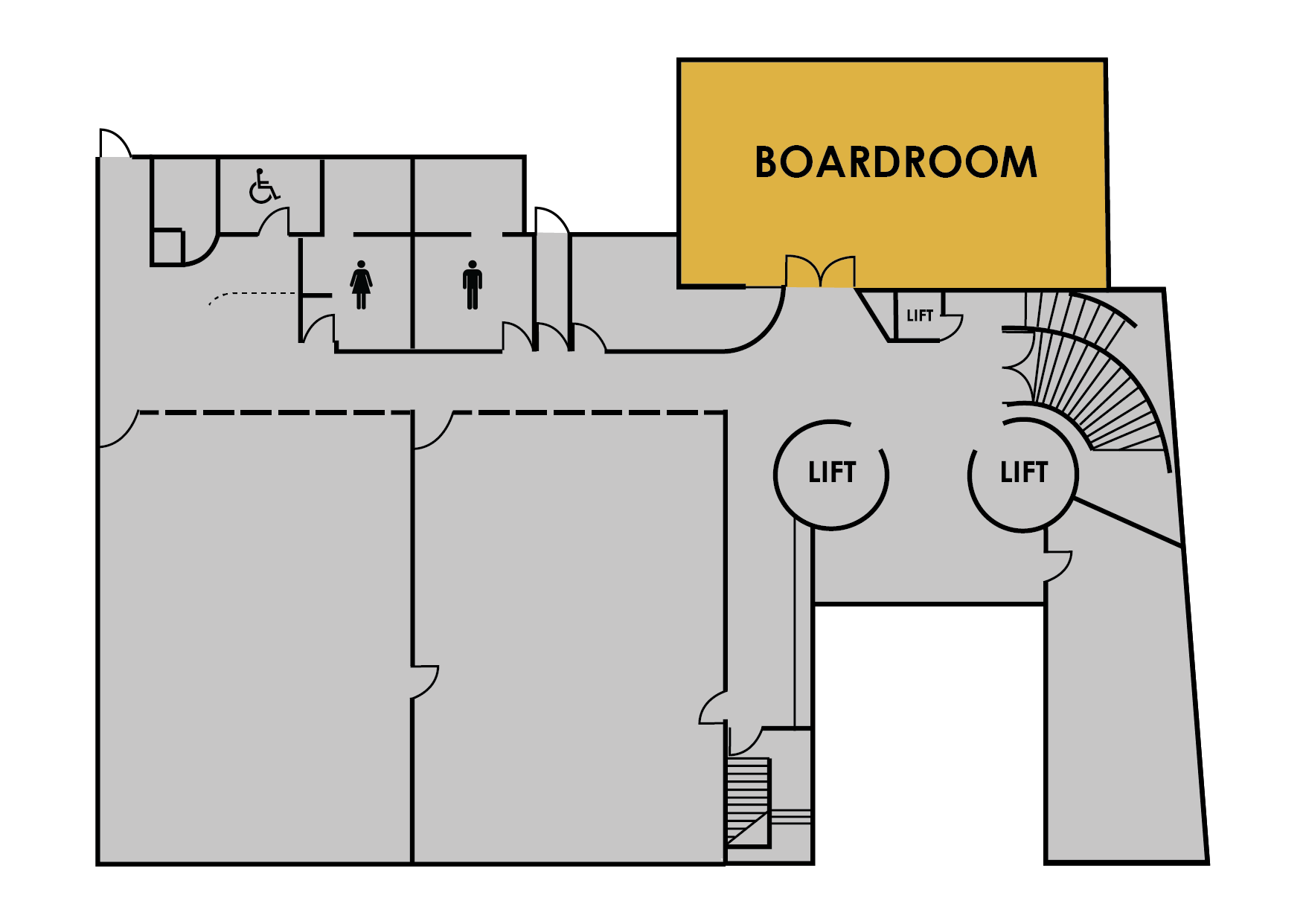 Boardroom map