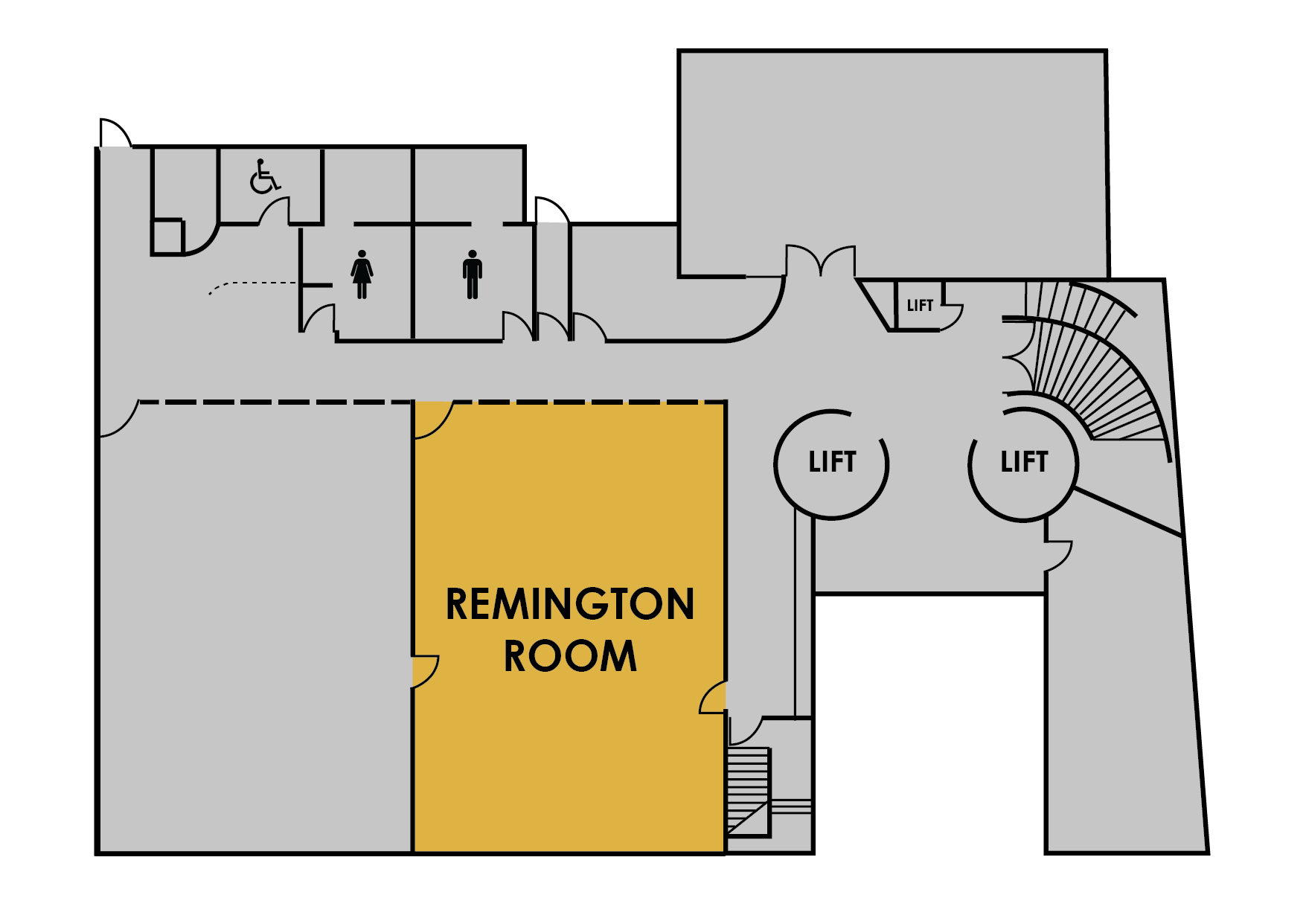 Remington map